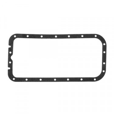Oil Pan Gasket, 41-71 Jeep & Willys with 4-134 engine