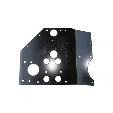 Transmission Crossmember Skid Plate, 48-71 CJ-2A, 3A, 3B, 5, 6, M38, M38A1