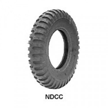 "STA Non Directional Tire 7.00 x 15"" 6 ply Round Shoulder Fits 41-71 Jeep & Willys"