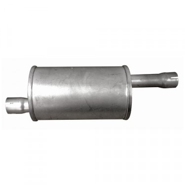 Exhaust Muffler, 46-71 CJ-2A, 3A, 3B, 5