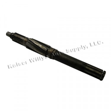 Transmission Mainshaft (with overdrive)  Fits  46-55 Jeepster, Station Wagon with T-96 Transmission