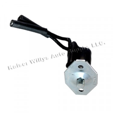 Overdrive Reverse Lockout Rail Switch, 46-55 Willys Station Wagon, Jeepster with Planar Suspension