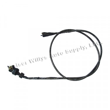 Speedometer Cable Assembly, 41-45 MB, GPW