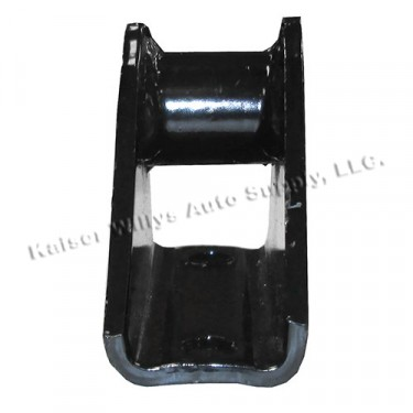 Front Leaf Spring to Frame Shackle Bracket (unthreaded), 46-64 Truck, Station Wagon (non greasable)