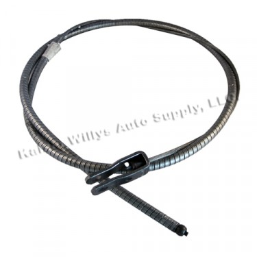 Front Hand Brake Cable, 48-51 Jeepster