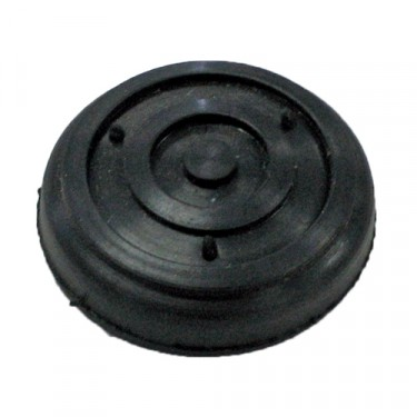 Rubber Starter Button Pad, 46-53 Willys with mechanical start