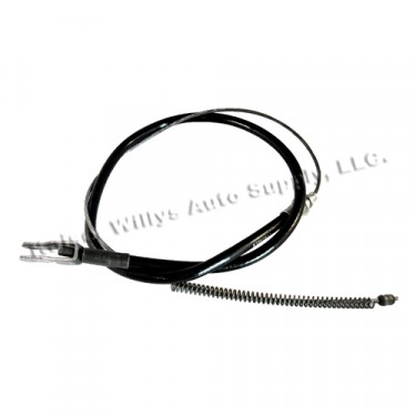 Rear Hand Brake Cable, 46-51 Station Wagon 4wd