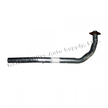 Exhaust Manifold Pipe, 50-51 Jeepster with 6-161 engine