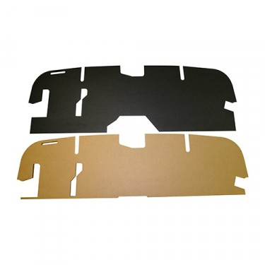 Firewall Padding Board Kit, 46-53 Station Wagon, Jeepster