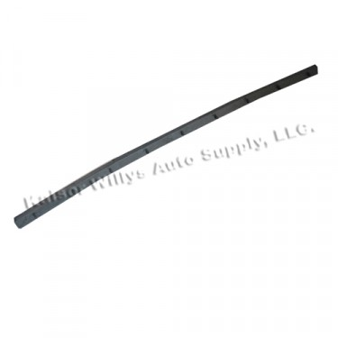 Rear of Wind Wing Vertical Division Bar Door Weatherseal, 46-64 Truck, Station Wagon