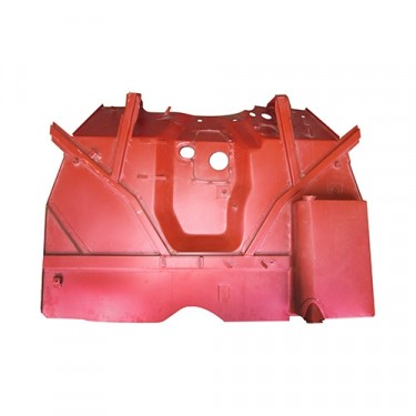 Front Floor Pan with Welded Braces, 41-45 MB, GPW