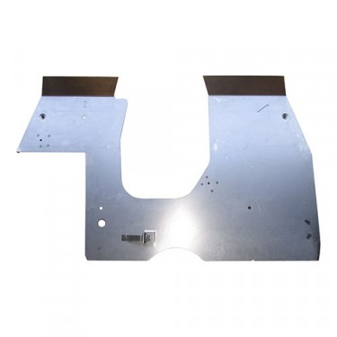 US Made Steel Front Floor Panel, 41-45 MB, GPW