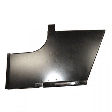 Cowl Side Panel with Step for Passengers Side, 46-53 CJ-2A, 3A