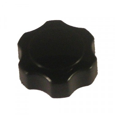 Vacuum Wiper Knob, Black, 46-64 Truck, Station Wagon