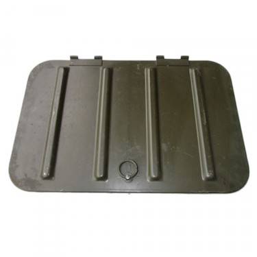 NOS Tool Compartment Lid Assembly, 48-69 CJ-2A, 3A, 3B, 5, M38, M38A1
