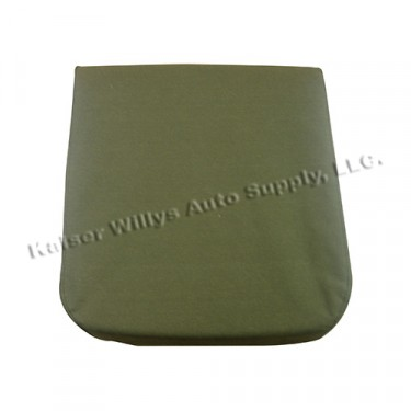 Seat Cover & Cushion for Front Upper Seat Frame Fits 50-71 M38, M38A1