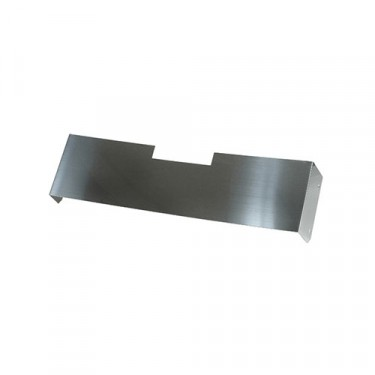 Front Frame Cover in Stainless, 76-86 CJ