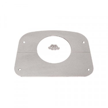 Steering Column Cover in Stainless, 76-86 CJ