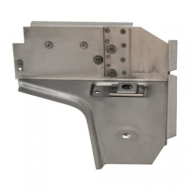 US Made Toe Board Support for Driver Side, 76-86 CJ-5, 7, 8