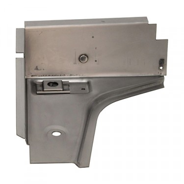 US Made Toe Board Support for Passenger Side, 76-86 CJ-5, 7, 8