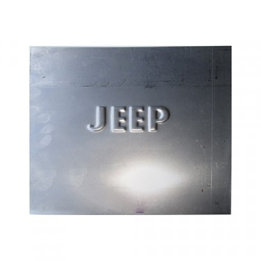 """Small """"Jeep"""" Patch Panel, 41-71 Willys & Jeep"""