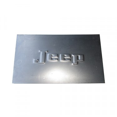 """Large """"Jeep"""" Patch Panel, 41-71 Willys & Jeep"""