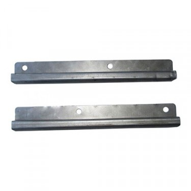 Lower Door Frame Rope Channel (pair), 49-53 CJ-3A, M38
