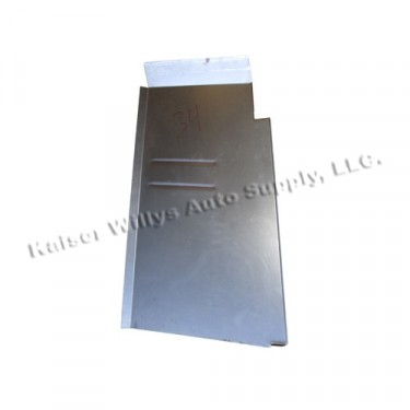 Floor Pan Repair Panel for Passenger Side, 46-55 Willys Station Wagon, Sedan Delivery (2 wheel drive)