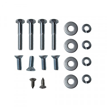 Windshield To Body Clamp Hardware Kit, 46-49 CJ-2A