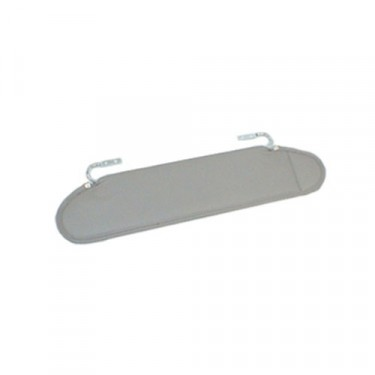 Sun Visors in Gray, 76-86 CJ