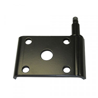 Front Drivers Side Lower Shock Mount Plate, 52-71 Willys Jeep