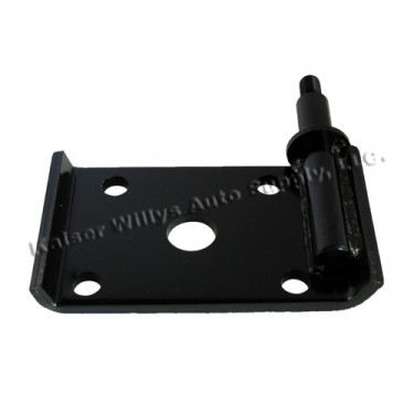 Front Passenger Side Lower Shock Mount Plate, 52-71 Willys Jeep