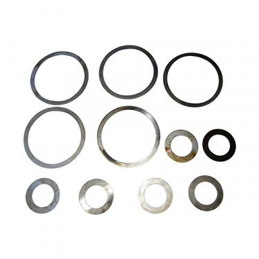 Differential Pinion Bearing Shim Pack, 46-64 Truck with Dana 53