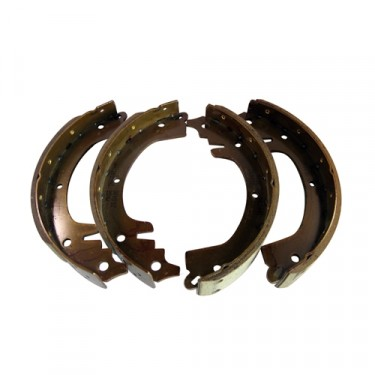Brake Shoe Set, 52-66 Willys Jeep CJ