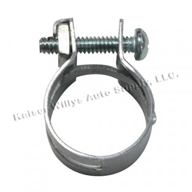 Oil Bath Air (Filter) Cleaner Filler Tube Hose Clamp (6 required) Fits 53-71 CJ-3B, 5, M38A1 with 4-134 F engine