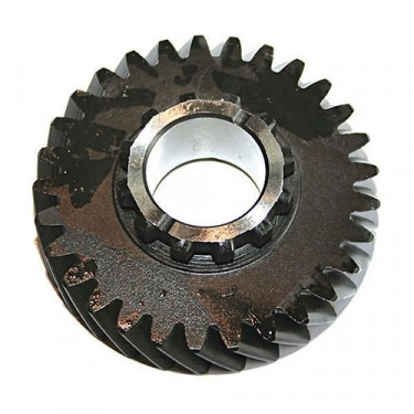 Output Shaft Gear, 53-66 Jeep & Willys with Dana 18 transfercase