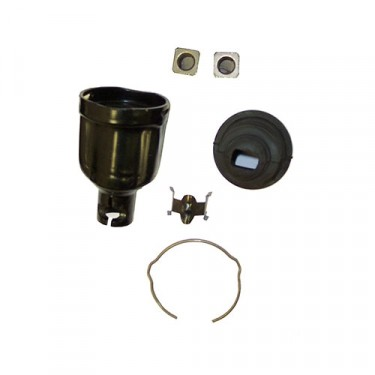 Lower Steering Shaft Spare Coupling Kit with Manual Steering, 76-86 CJ