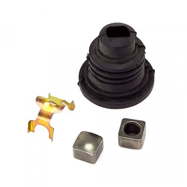 Lower Steering Shaft Coupling Spare Boot Kit, 76-86 CJ