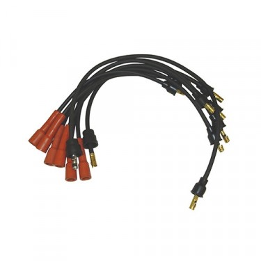 Ignition Wire Set, 78-86 CJ with 6 Cylinder 4.2L