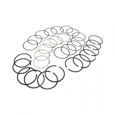 Piston Ring Set in .020 Inch o.s., 83-86 CJ with 2.5L 4 Cylinder
