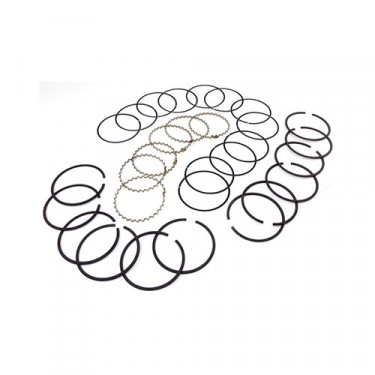 Piston Ring Set in .010 Inch o.s., 83-86 CJ with 2.5L 4 Cylinder