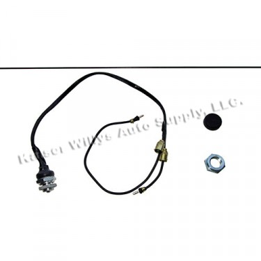 Horn Button, Switch & Rod Kit, 50-52 M38