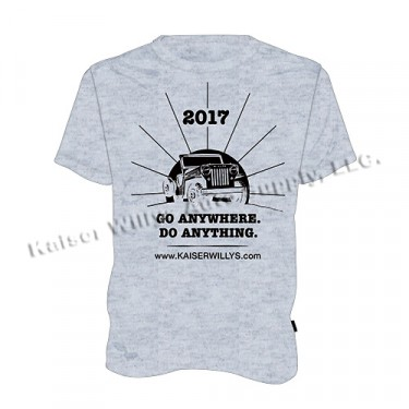 2017 Kaiser Willys T-Shirt, For All Jeep & Willys