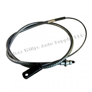 Front Hand Brake Cable, 52-64 Station Wagon