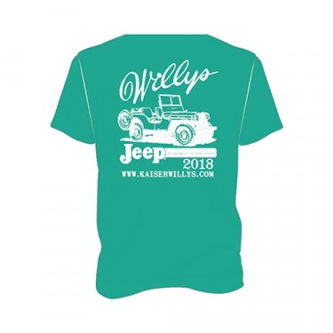 2018 Kaiser Willys T-Shirt Fits 41-71 Jeep & Willys