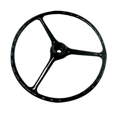 Black Steering Wheel, 46-64 Willys Jeep CJ