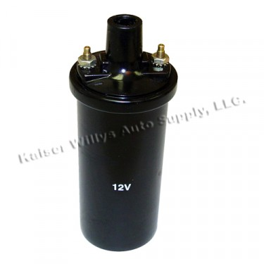 Ignition Coil 12 volt, 41-71 Willys Jeep