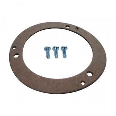 Parking Light Lens Gasket with Hardware (2 required), 66-71 Jeepster Commando