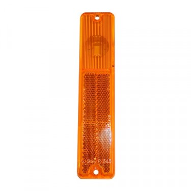 Front Side Marker Lens in Amber, 76-86 CJ