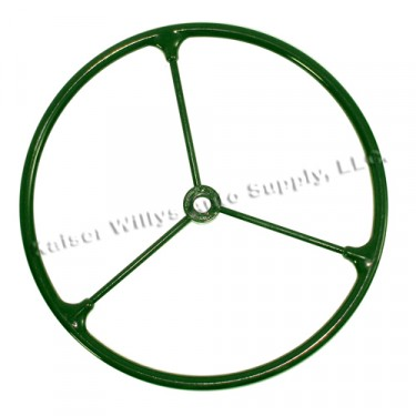 Olive Drab Steering Wheel, 41-45 Willys & Ford MB, GPW